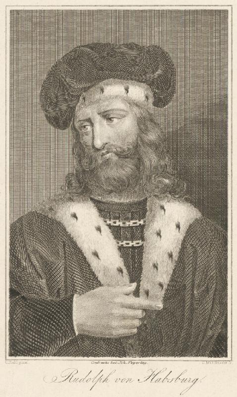 Carl Mahlknecht, Carl Rahl - Portrét Rudolfa z Habsburgu