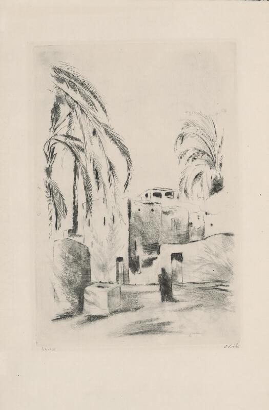 Emil Orlík - Egyptské mestečko