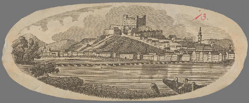 Stredoeurópsky grafik z 1. polovice 19. storočia - Bratislava