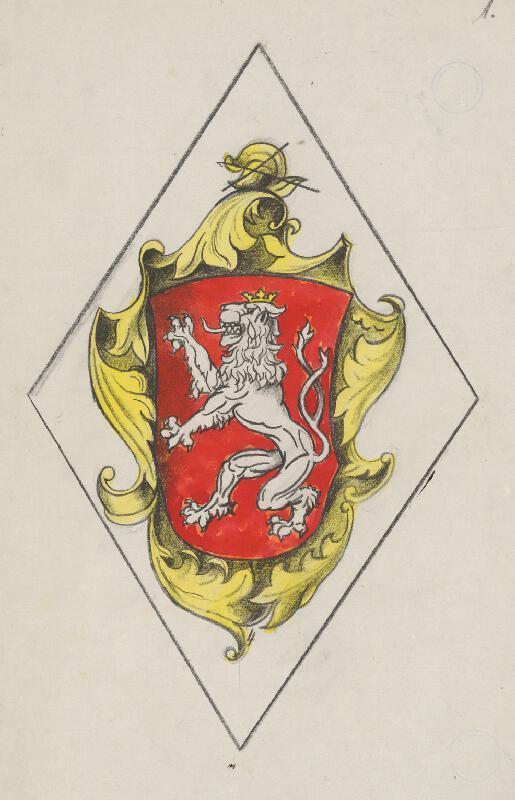 Ján Ladvenica - Znak českého kráľovstva