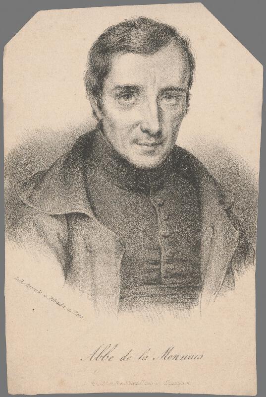 Wenzel Pobuda - Abbé de la Mennais
