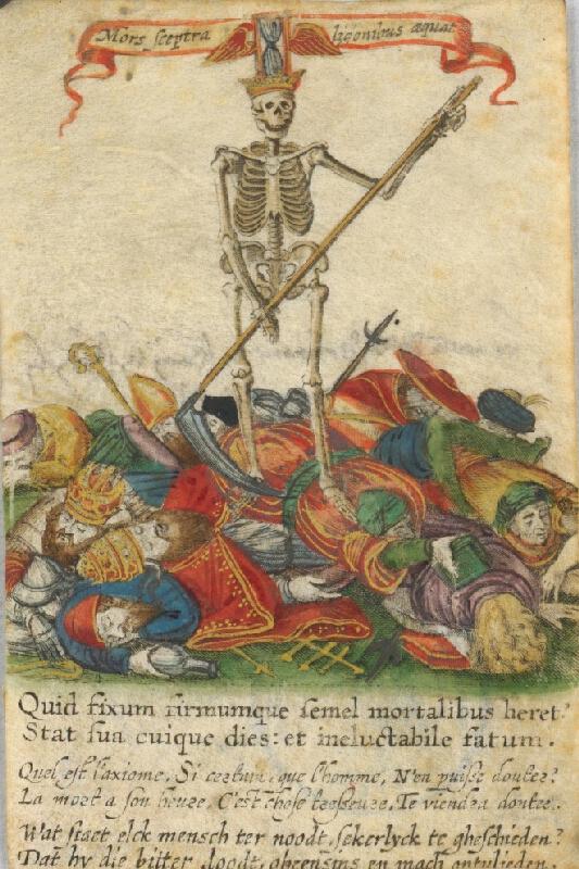 Stredoeurópsky grafik z prelomu 16. - 17. storočia - Smrť