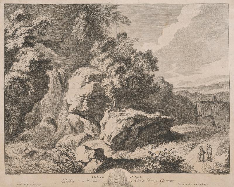 Franz Edmund Weirotter, Christian Wilhelm Ernst Dietrich - Krajina