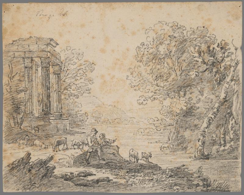 Stredoeurópsky grafik z 18. storočia - Krajina