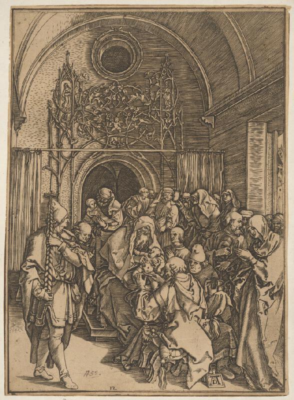 Albrecht Dürer - Obriezka Krista (10)