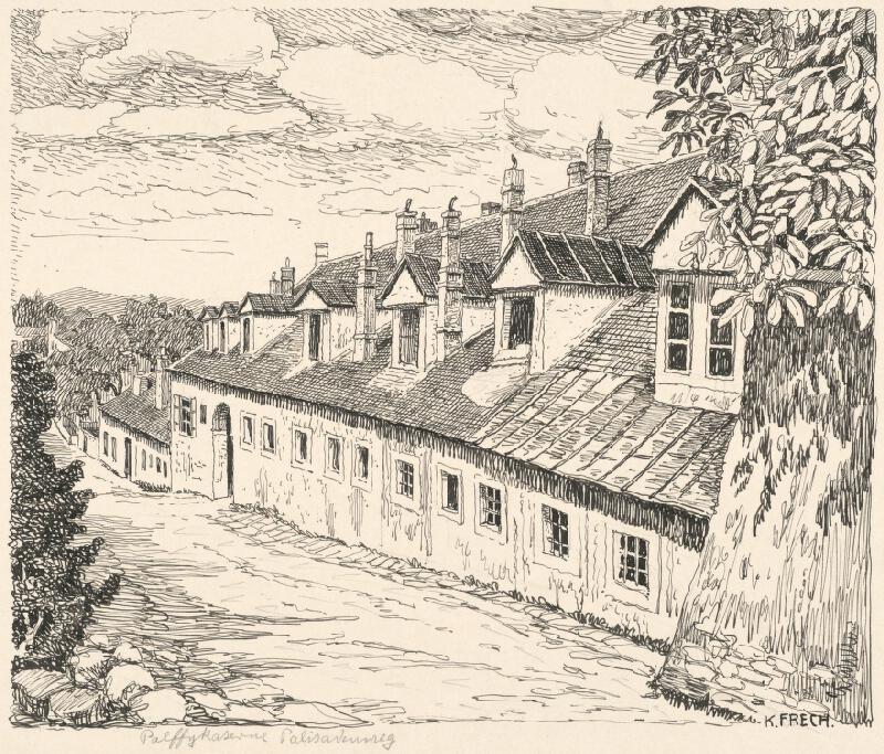 Karol Frech - Pálffyovská kasáreň v Bratislave
