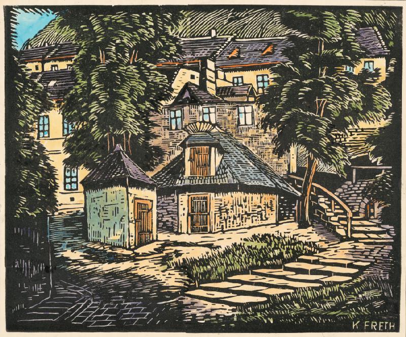 Karol Frech - Šťuková ulica v Bratislave