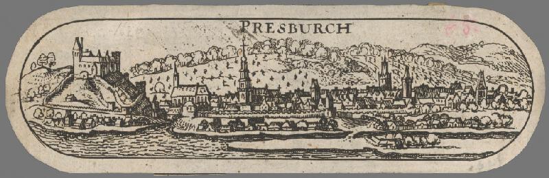 Stredoeurópsky grafik z 1. polovice 17. storočia - Bratislava