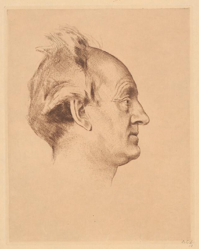Emil Orlík - Hlava muža