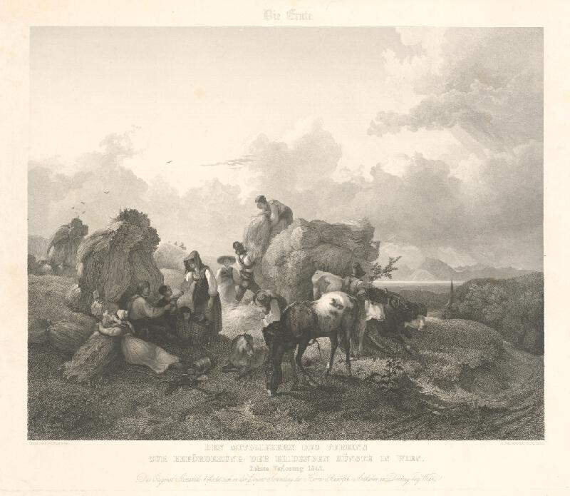 Johann Passini, Friedrich Gauermann - Žatva