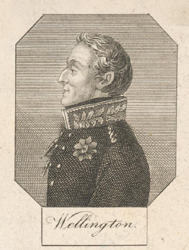 Stredoeurópsky grafik z 1. polovice 19. storočia - Knieža Wellington z Waterloo