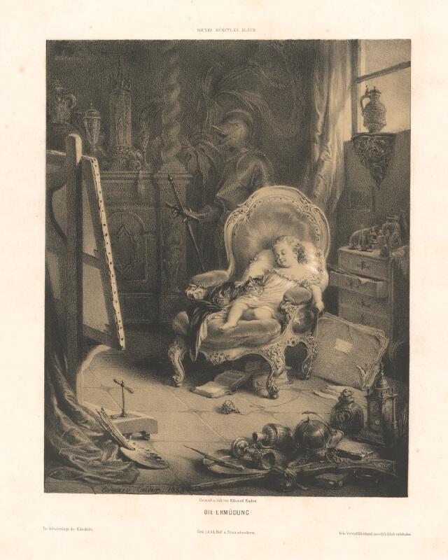 Eduard Ender - Odpočinok