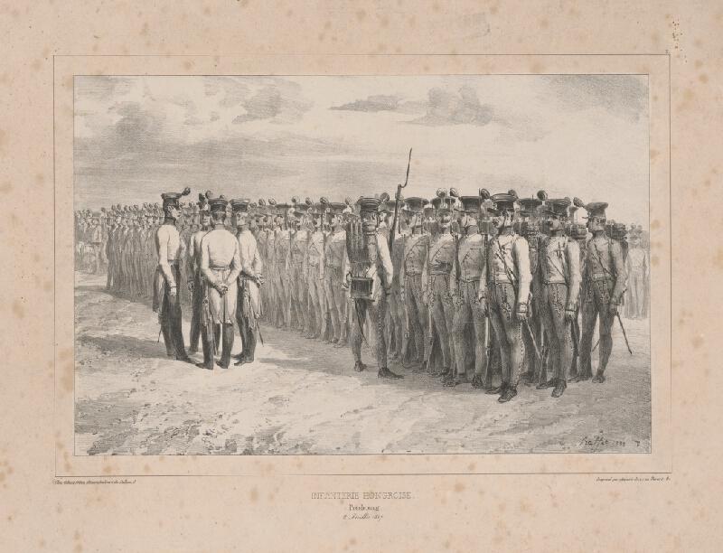 Ignaz Hoffer - Uhorská infantéria