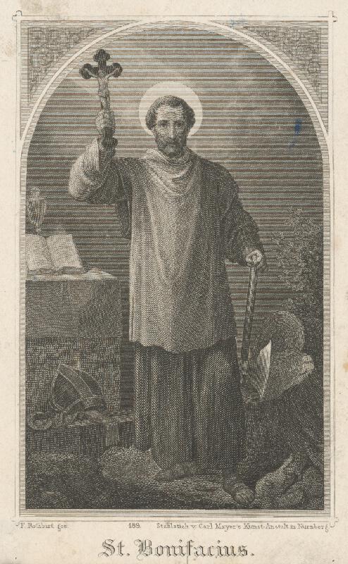 Carl Mayer, Ferdinand Rothbart - Svätý Bonifác
