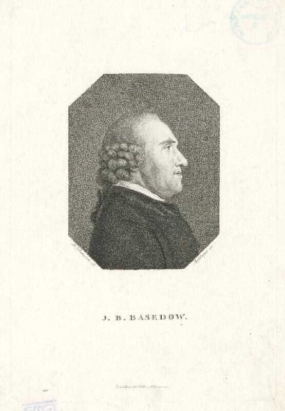 Friedrich Wilhelm Bollinger, Daniel Nikolaus Chodowiecki - J. B. Basedow