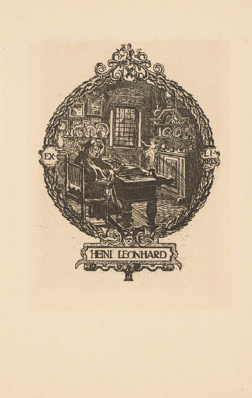 Stredoeurópsky grafik z 20. storočia - Ex libris