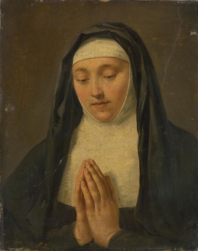 Aimee Morelová - Modliaca sa mníška