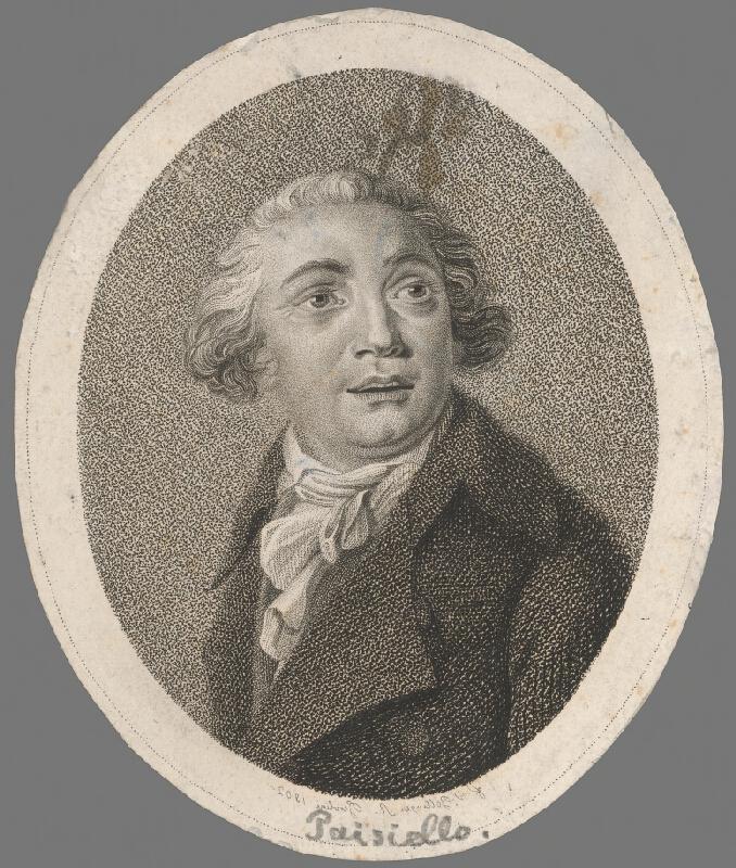 Friedrich Wilhelm Bollinger - Podobizeň Paisiela