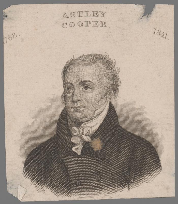 Stredoeurópsky grafik z 1. polovice 19. storočia - Podobizeň Coopera Astleyho