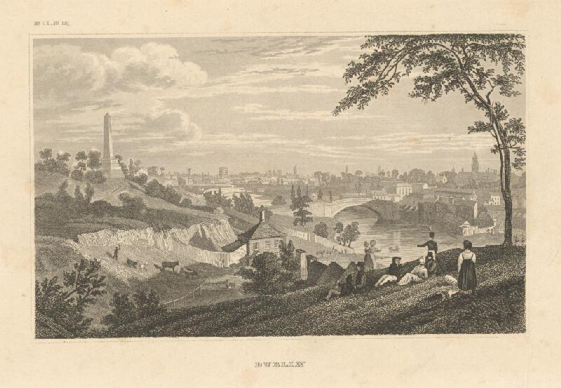 Nemecký grafik z 19. storočia - Dublin