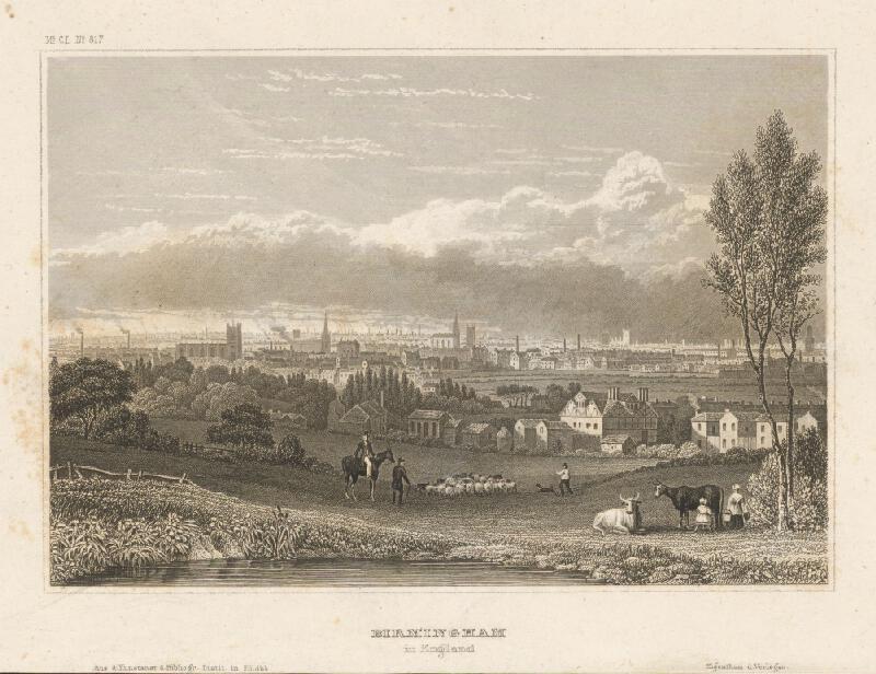 Nemecký grafik z 19. storočia - Birmingham