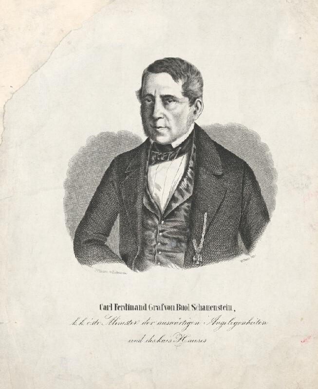 W. Klimt, Carl Wilhelm Medau - Portrét Karola Ferdinanda von Buol-Schauenstein