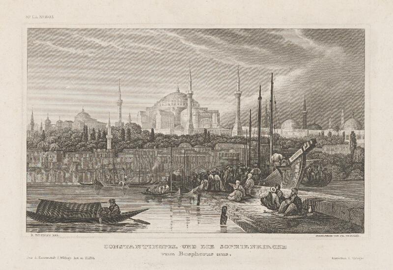 Friedrich Geissler, D. Ralterts - Pohľad na Konstantinopol