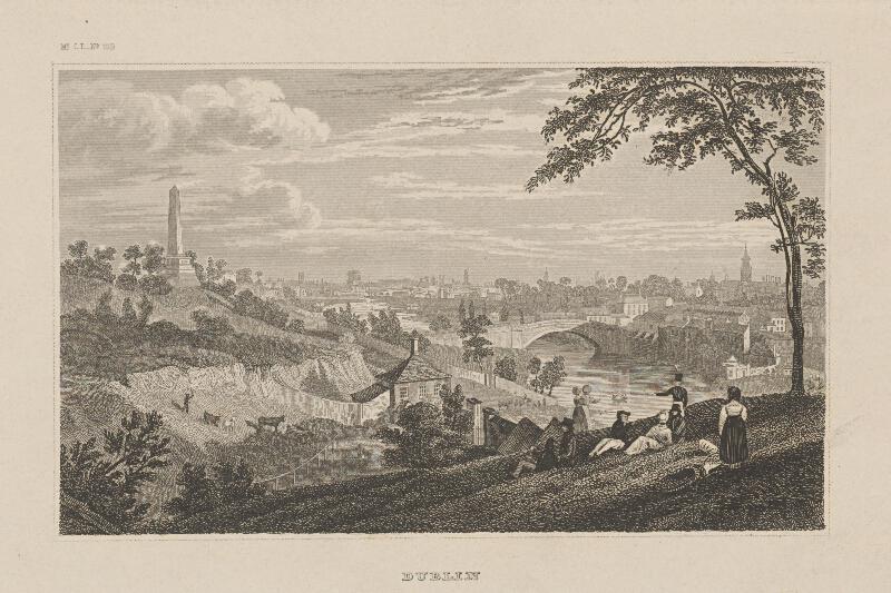 Stredoeurópsky grafik z 19. storočia - Dublin
