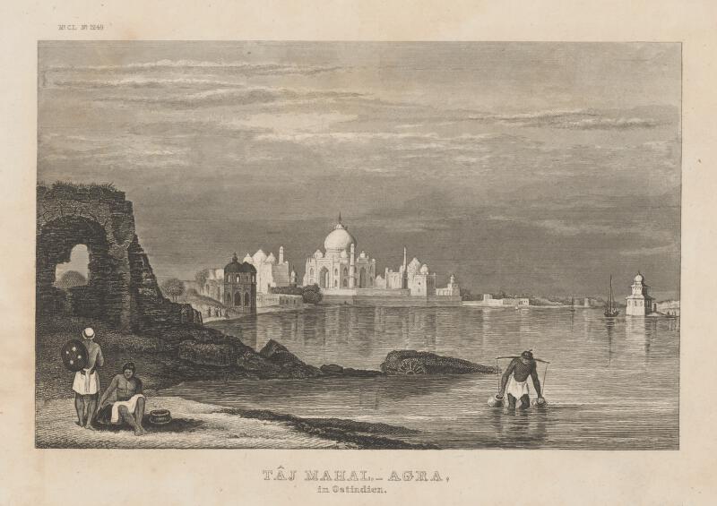 Neznámy autor - Taj Mahal - Agra vo Východnej Indii