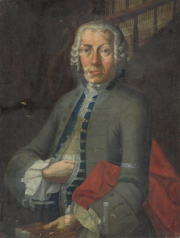 Stredoeurópsky maliar z 2. polovice 18. storočia - Portrét pána von Windischa