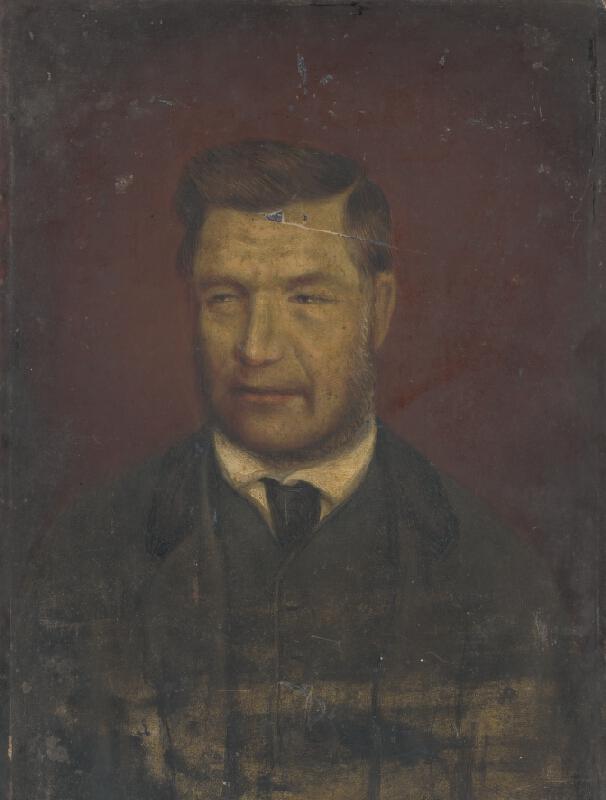 Stredoeurópsky maliar z 20. storočia - Portrét muža