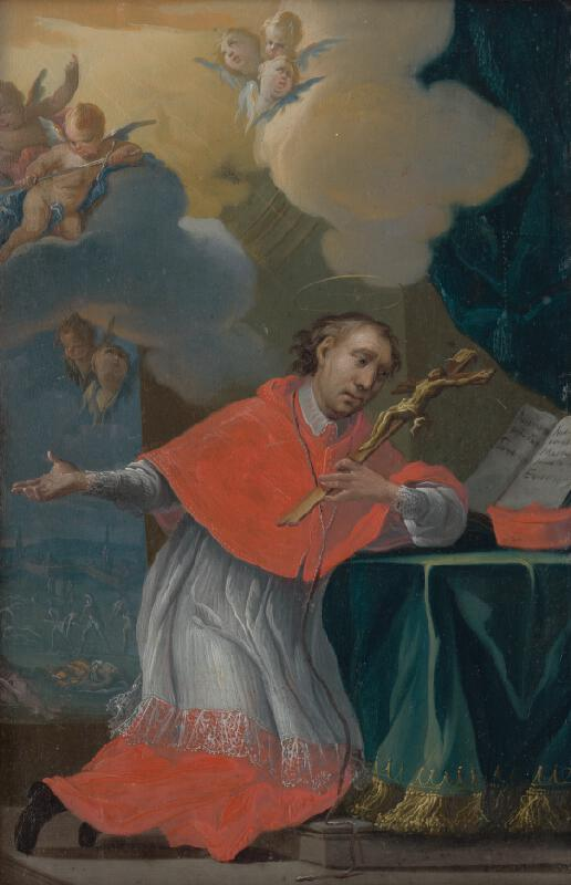 Stredoeurópsky maliar okolo polovice 18. storočia, Jozef Kurtz - Svätý Karol Boromejský
