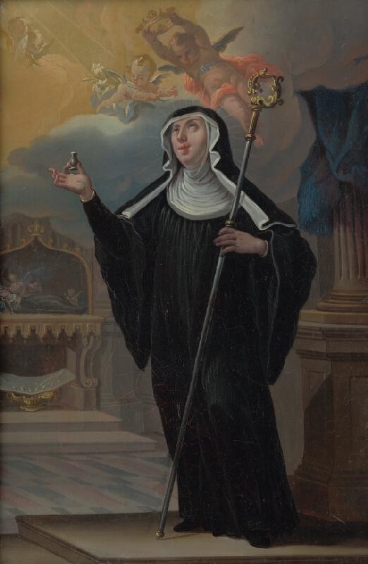Stredoeurópsky maliar okolo polovice 18. storočia, Jozef  Kurtz - Svätá Walburga