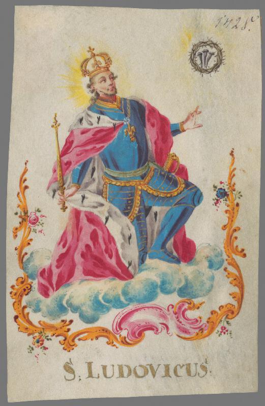 Stredoeurópsky maliar z konca 18. storočia - Svätý Ľudovít