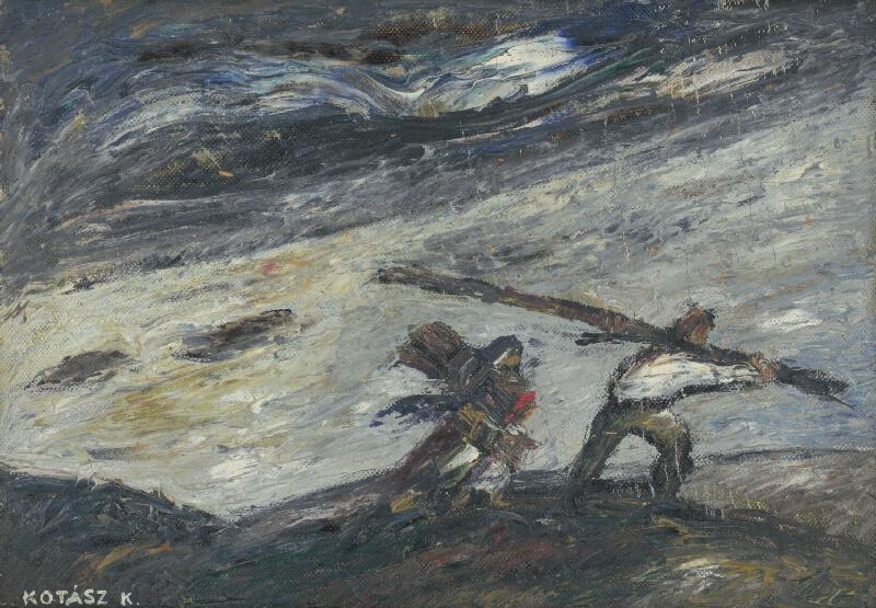 Károly Kotász - V búrke