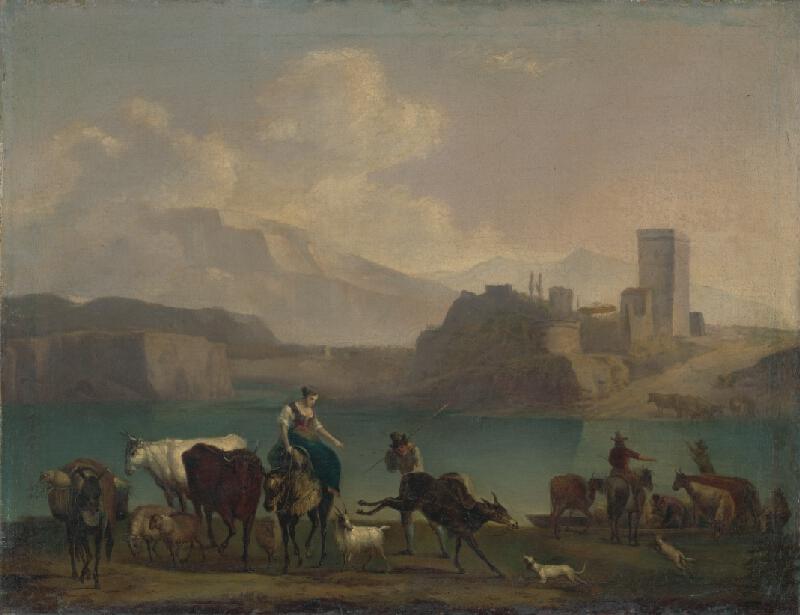 Stredoeurópsky maliar okolo polovice 19. storočia - Pastieri dobytka