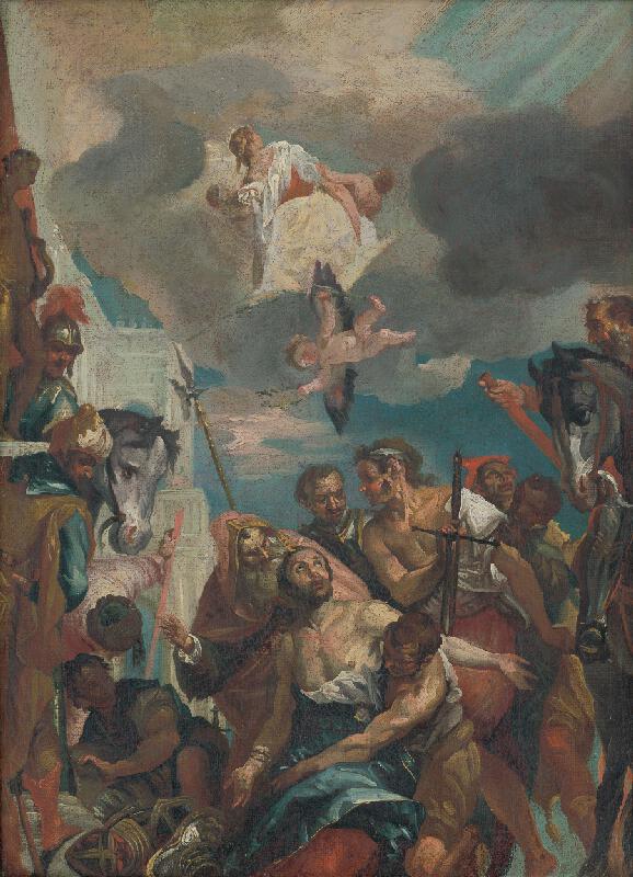 Paolo Veronese, Franz Xaver Carl Palko - Umučenie svätého Juraja