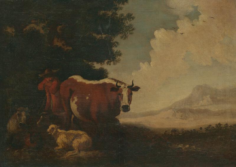 Johann Heinrich Roos - Pastier so stádom