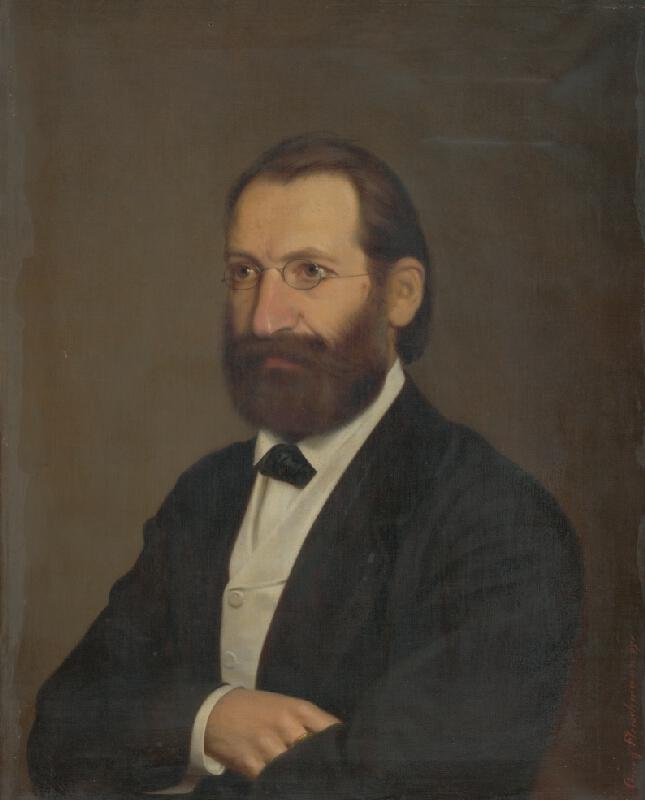 Juraj Fleischmann - Portrét bradatého muža