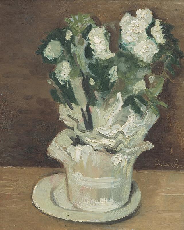 Mikuláš Galanda - Biele kvety