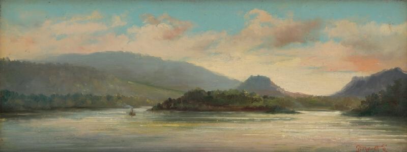 Ľudovít Pitthordt - Dunajská krajina pred Devínom