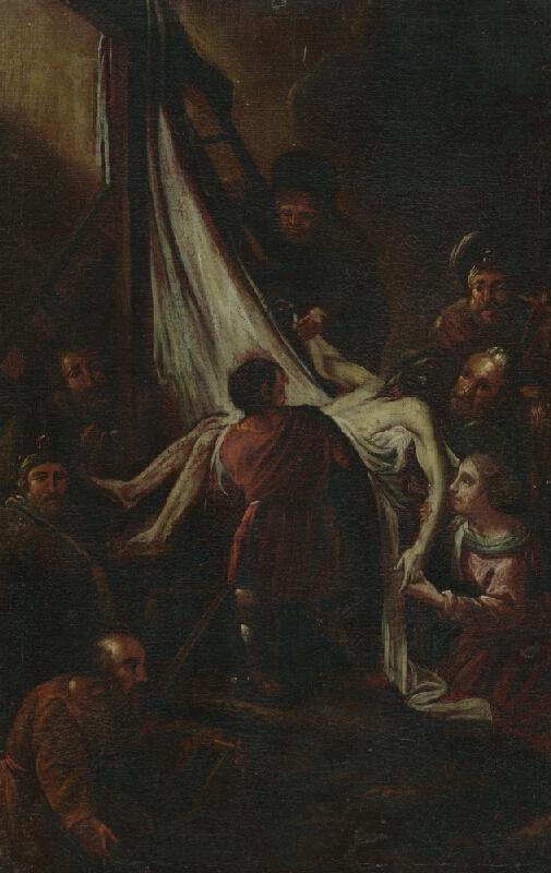 Stredoeurópsky maliar z 18. storočia - Snímanie z kríža