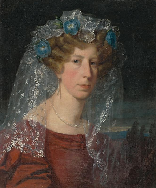 Friedrich von Amerling - Portrét dámy