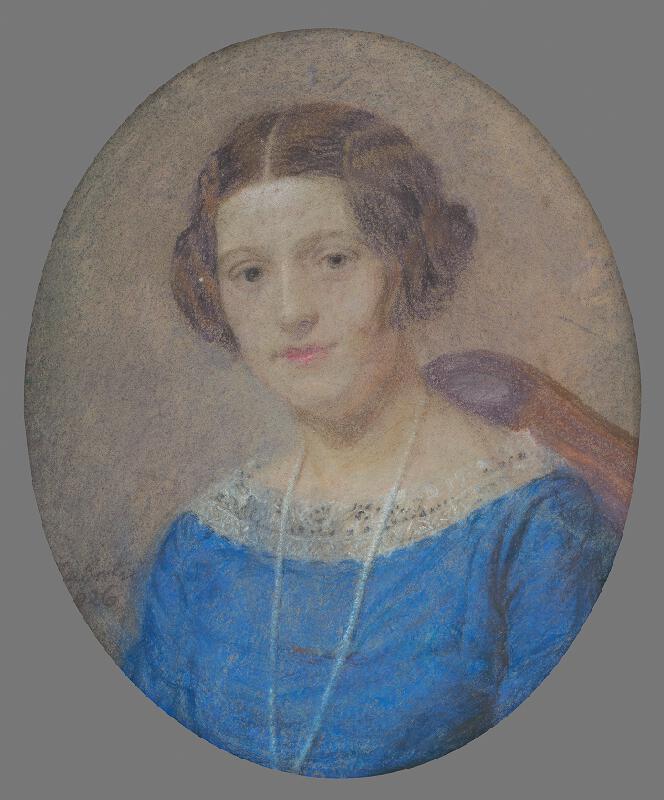 Ivan Žabota - Portrét pani Ležovičovej