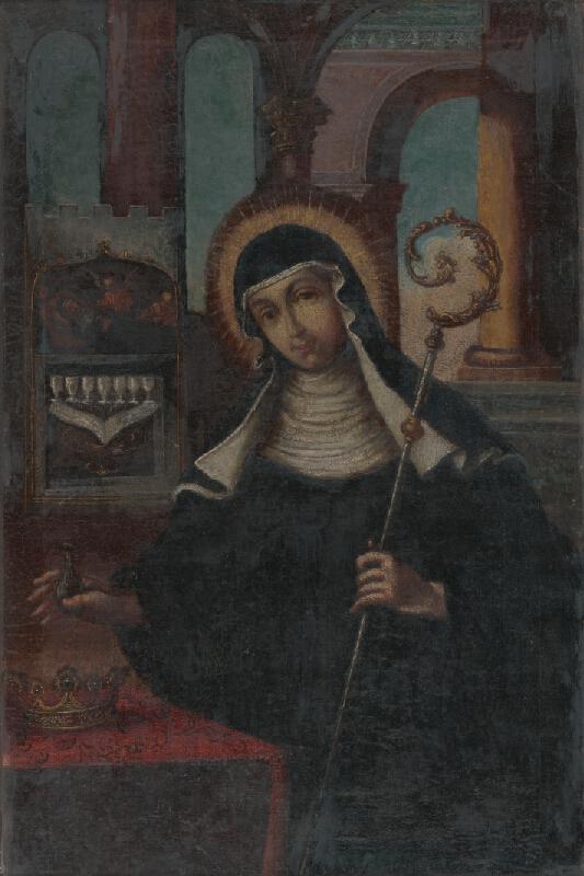 Stredoeurópsky maliar zo začiatku 18. storočia - Svätá Walburga