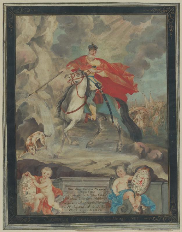 Bratislavský maliar, Franz Anton Maulbertsch, Andreas Schmutzer - Zázrak svätého Ladislava