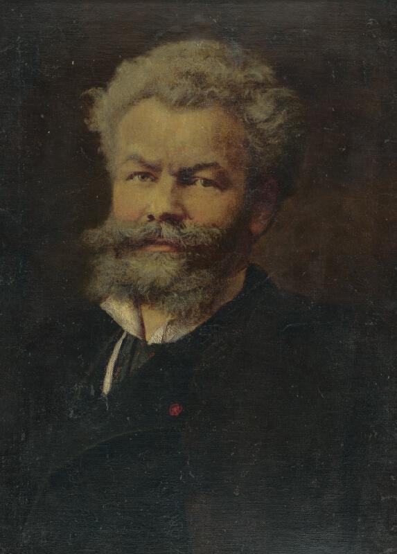 Stredoeurópsky autor z prelomu 19. - 20. storočia - Portrét maliara Mihálya Munkácsyho