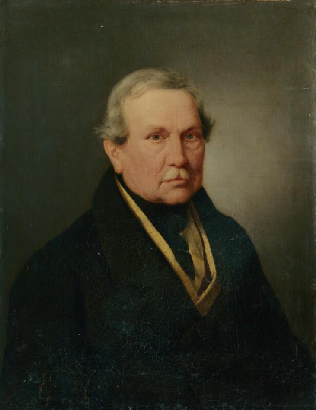 Friedrich Johann Gottlieb Lieder - Portrét medikováča Jána Gschnattla