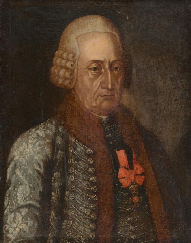 Stredoeurópsky maliar z 2. polovice 18. storočia - Portrét Franza Töröka