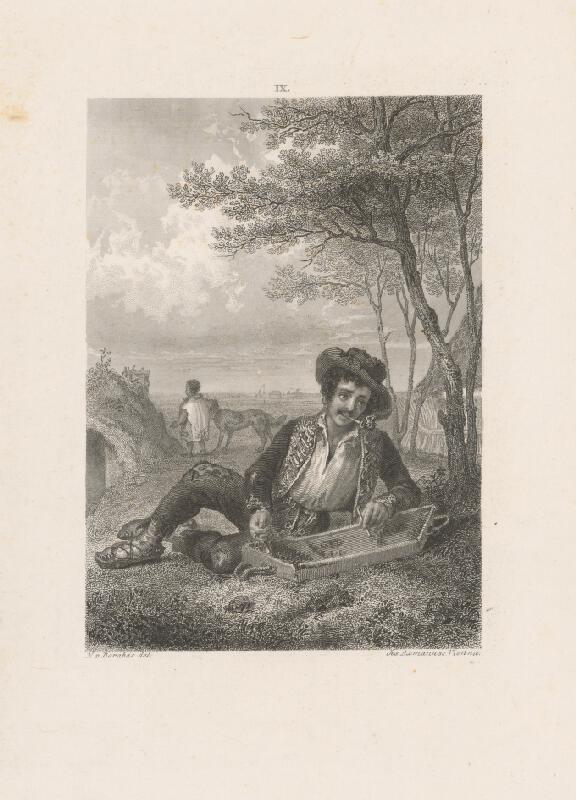 Josef Axmann, Miklós Barabás - Cigán s citarou